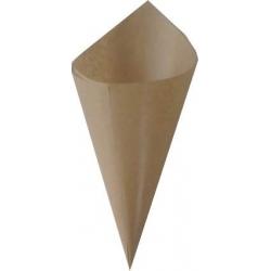 CONO GRANDE IN CARTA + MATER-BI Ø 11 cm