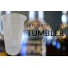 BICCHIERE PLA TUMBLER 350 cc (t. 300)