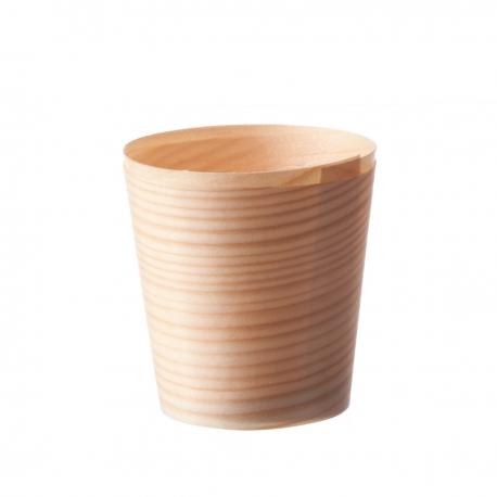 vaschetta in legno di pino formato grande per il finger food