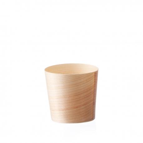 vaschetta in legno di pino formato medio per finger food
